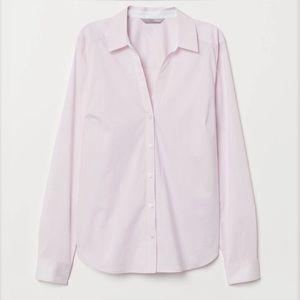 Light pink oxford button down shirt